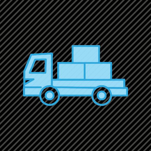 Trailer, transport, truck icon - Download on Iconfinder