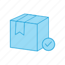 box, check, delivery, of, package, valid, warehouse