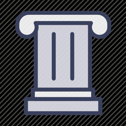 architecture, building, education, greek, pillar, roman icon
