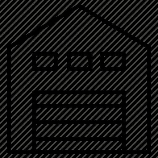 buidling, storage, storehouse, warehouse icon