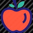 apple, fruit, juicy, sweet