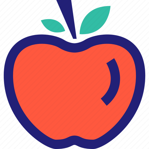 apple, fruit, juicy, sweet icon