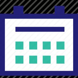 calendar, event, schedule icon