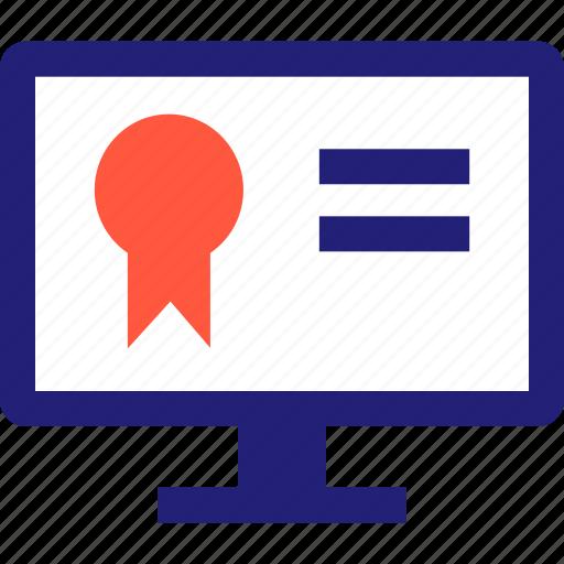 elearning, onlnie, web icon