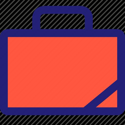 briefcase, staff, teacher icon