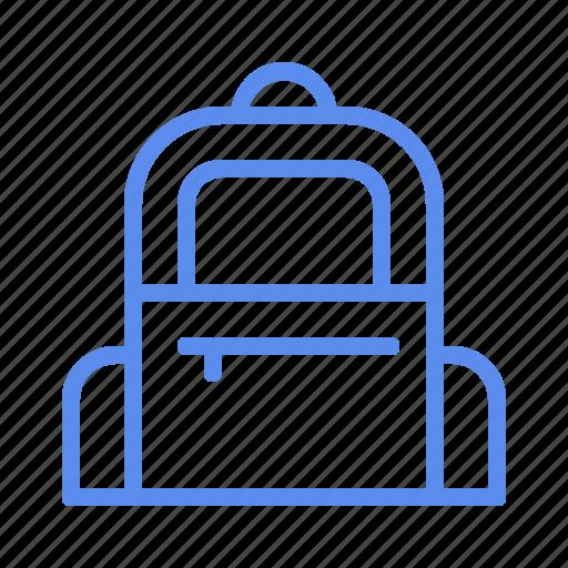 backpack, bag, education, school icon