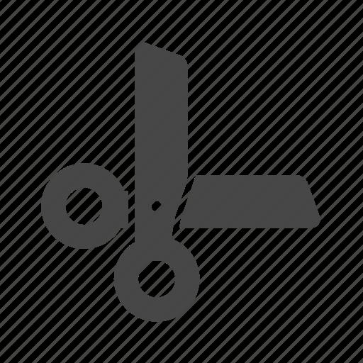 education, school, scissors icon