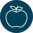 apple, learning, school, teacher icon