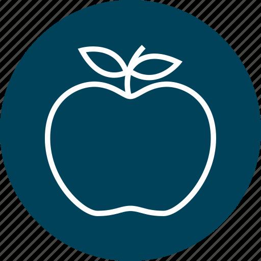 apple, learning, school, teacher icon