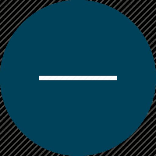 calulator, earning, negative, sign icon