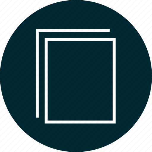 documents, education, paper icon