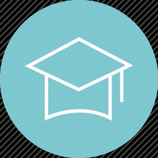 cap, draduation, graduate icon