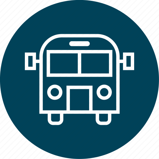 bus, learning, school icon