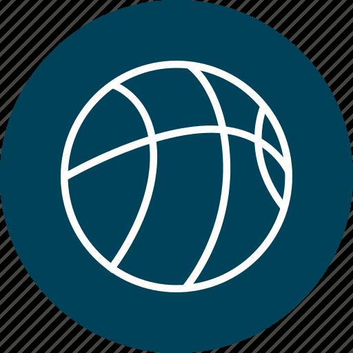 basketball, dribble, sports icon