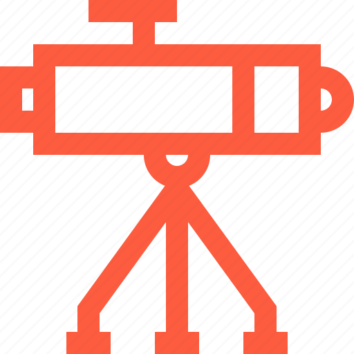 astronomy, exploring, observation, space, spyglass, telescope icon