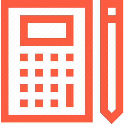 accounting, audit, calculation, counting, math, mathematics, stocktaking icon