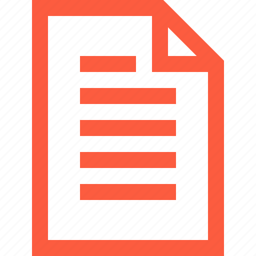 doc, document, file, info, information, page, paper, sheet icon