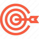 accuracy, achieve, achievement, aim, goal, point, target icon