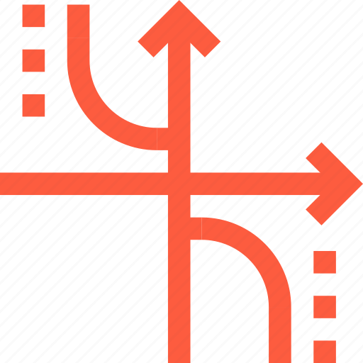 arrow, axis, bar, chart, direction, graph, pointer icon