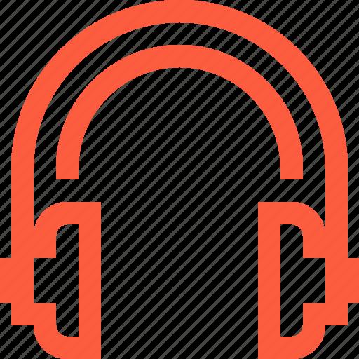 audio, earphones, headphones, headset, listen, music, sound icon