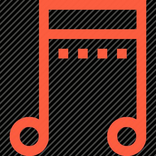 arrangement, multimedia, music, note, sign, sound icon