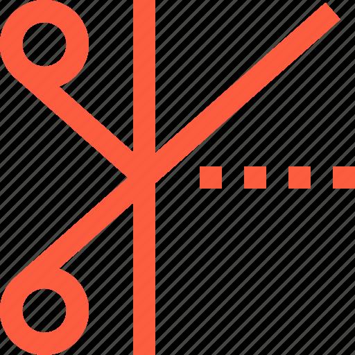 cut, edge, sartor, scissors, seamster, shape, tailoring icon