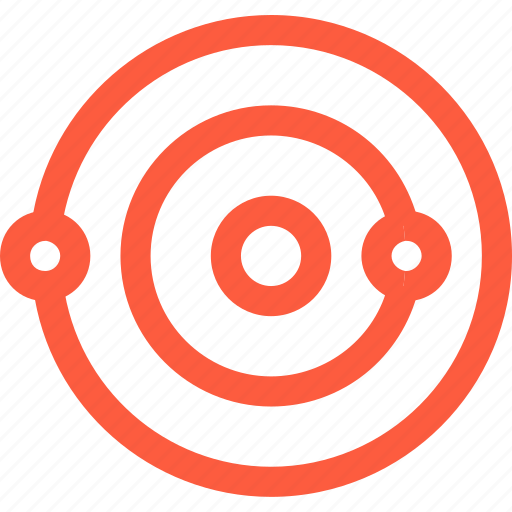 movement, orbit, planets, solar, space, system, trajectory icon
