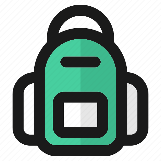 backpack, bag, education, school, student, suitcase, travel icon
