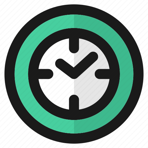 clock, education, schedule, school, time, timer, watch icon