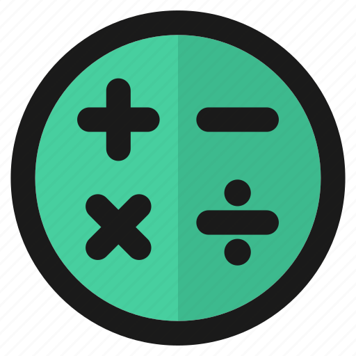 calculate, calculator, count, education, math, school, student icon