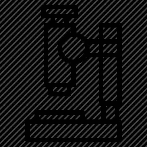 microscope, science icon