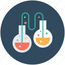flask, laboratory, chemical flask, chemistry, conical flask icon