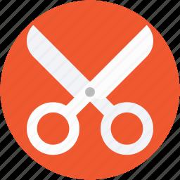 cut, cutting tool, scissor, shear, snip icon