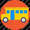 autobus, bus, school bus, transport, vehicle