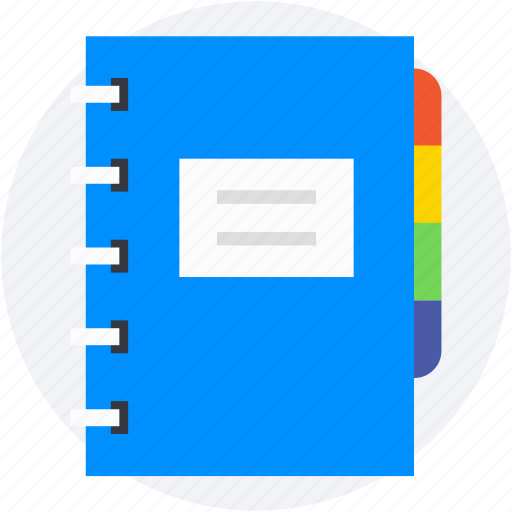 memo book, notepad, scratch pad, stationery, writing pad icon