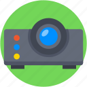 ceremonial projector, movie projector, multimedia, projector, video projector icon