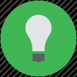 bright, bulb, electric, lamp, light, light bulb icon