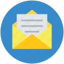 email, envelop, file, file folder, folder, inbox, message, storage icon