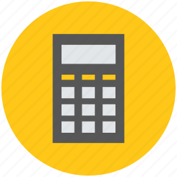 calculate, calculation, calculator, digital calculator, finance, maths icon