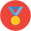 achievement, appreciation, award, medal, pride, prize, winner icon