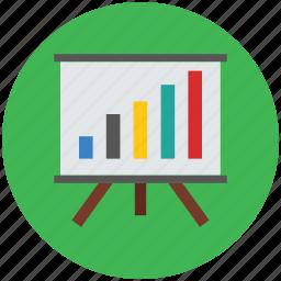 analysis, business, chart, graph, progress, statistics, stats icon