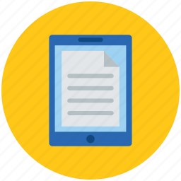 documents, notes, online documents, paper pad, papers, toughpad icon