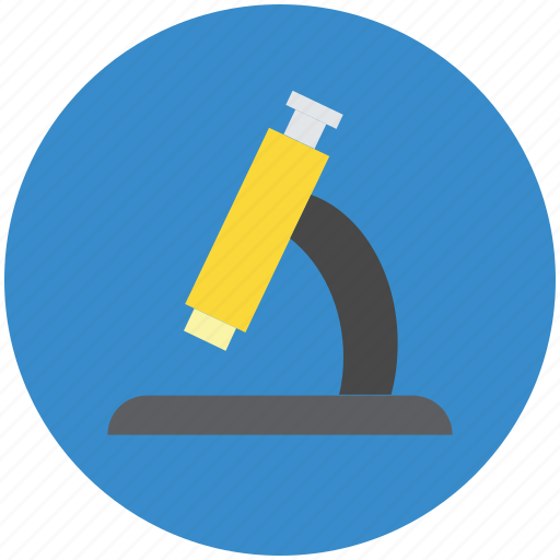 biology, inspection, lab, laboratory, microscope, optical microscope, research, science, zoom icon