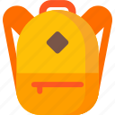 adventure, backpack, bag, hiking, rucksack, travel icon