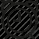 alarm, calendar, clock, date, event, hour, schedule icon