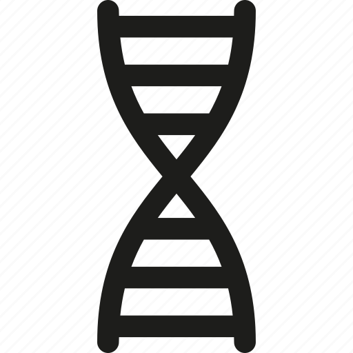 dna, genetic, genetics, helix, molecule, structure icon