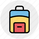 bag, case, office bag, school bag, student bag, suit case icon