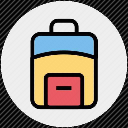 bag, case, office bag, school bag, student bag, suit case icon