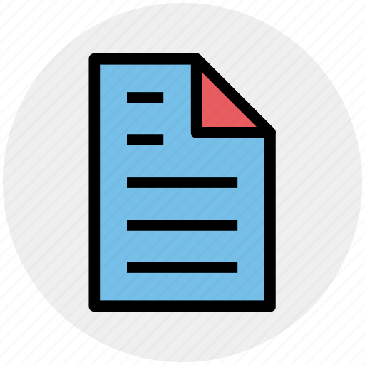 doc, document, file, page, paper, sheet icon