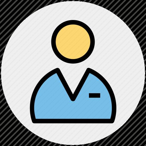 human, man, people, student, user icon